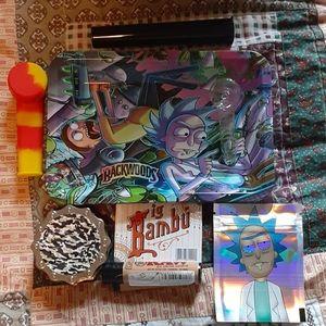 Rick and Morty Fan Smoking Kit